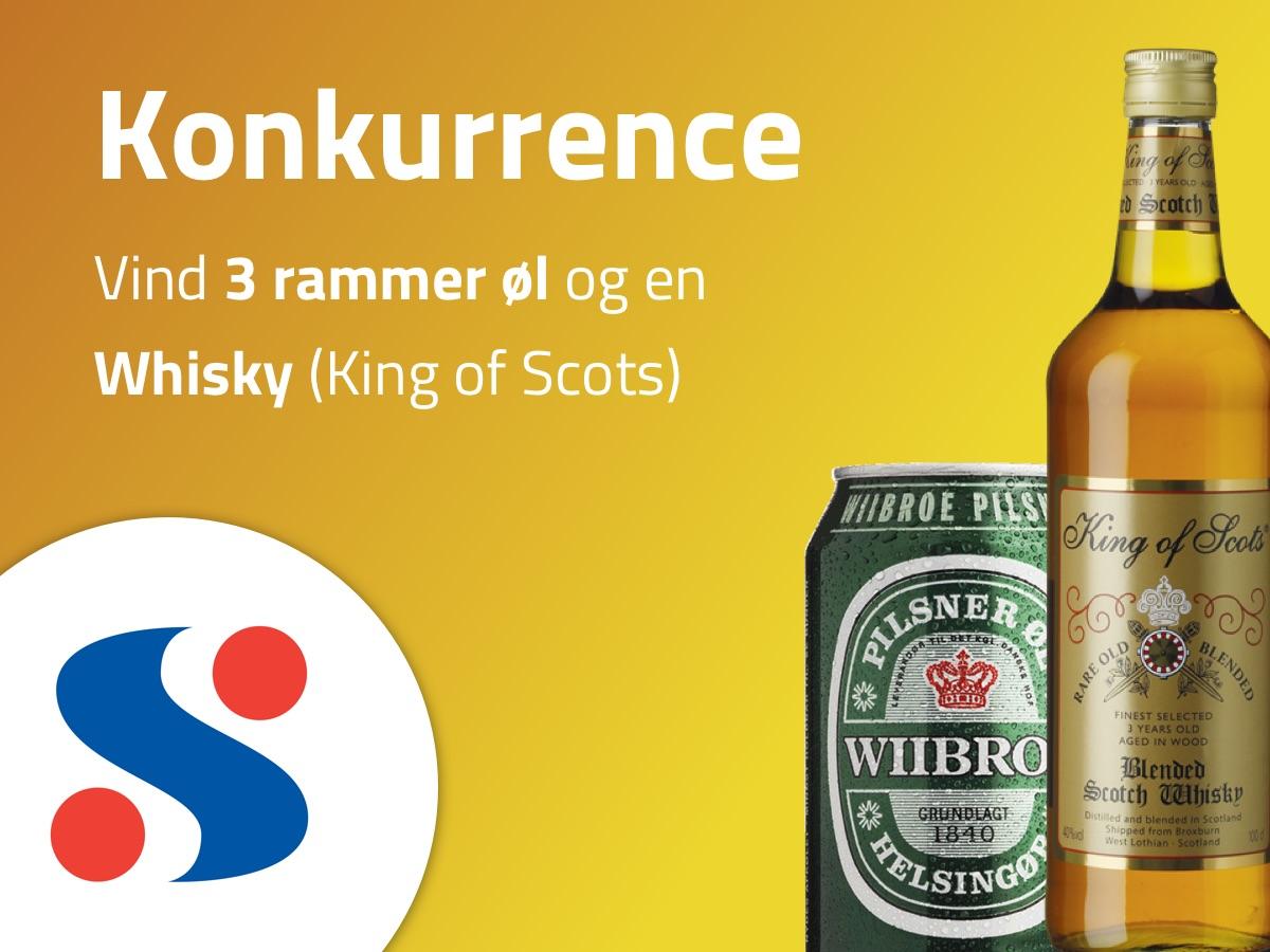 Konkurrence Vind 3 Rammer Wiibroe Og En Flaske King Of Scots